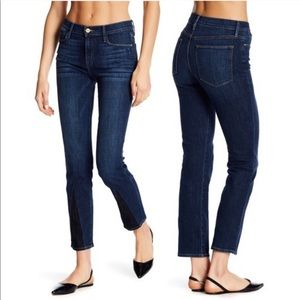 FRAME Le High Straight Gusset Jeans